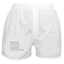 Primatologist Boxer Shorts