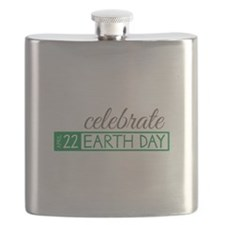 Celebrate Earth Day Flask