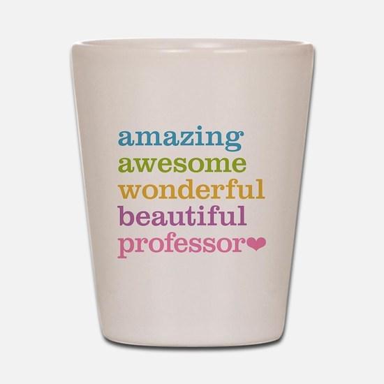Awesome Professor Shot Glass