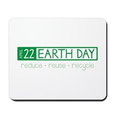 Reduce Reuse Recycle Mousepad