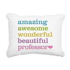 Awesome Professor Rectangular Canvas Pillow