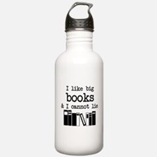 I like Big Books Water Bottle