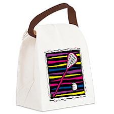 lacrosse17.png Canvas Lunch Bag
