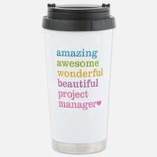 Project Manager Stainless Steel Travel Mug
