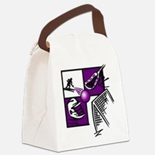 lacross2.png Canvas Lunch Bag