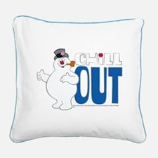 Chill Out Square Canvas Pillow