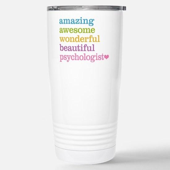 Psychologist Stainless Steel Travel Mug