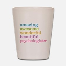 Psychologist Shot Glass