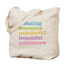 Awesome Publisher Tote Bag