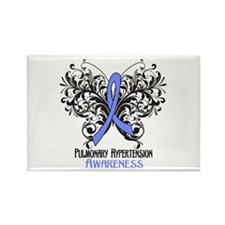 Pulmonary Hypertension Awareness Rectangle Magnet