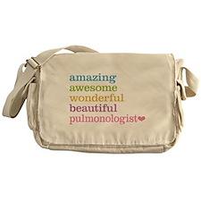 Pulmonologist Messenger Bag