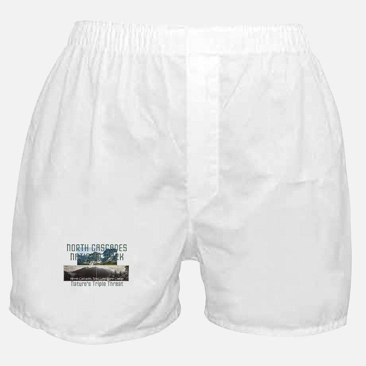 North Cascades Boxer Shorts