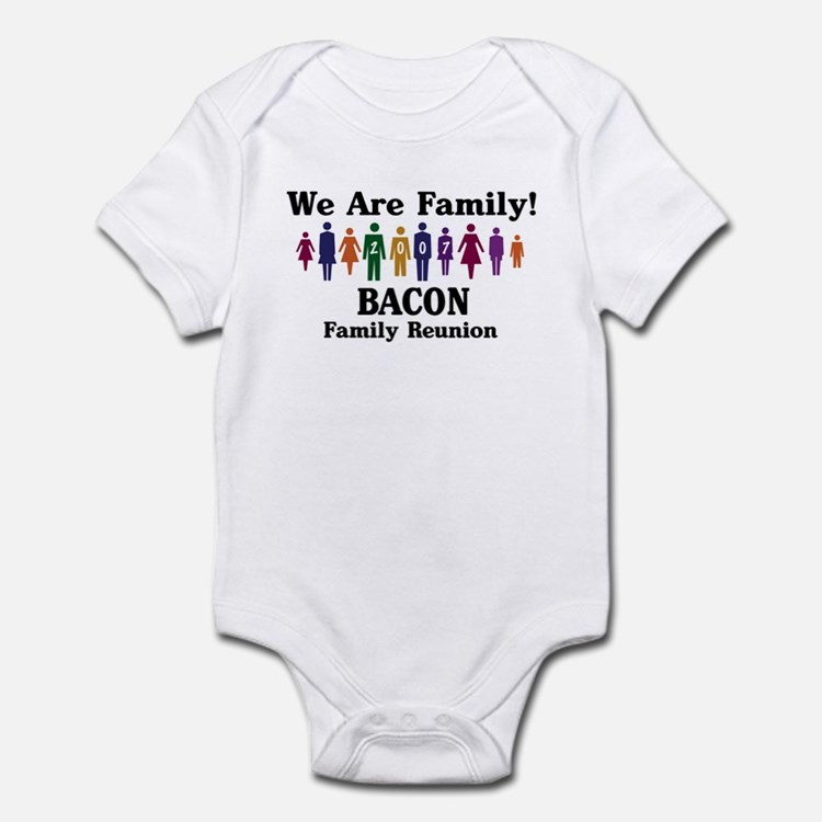 BACON reunion (we are family) Infant Bodysuit