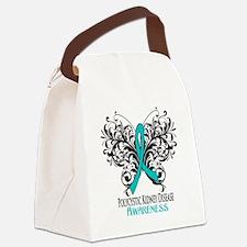 Polycystic Kidney Disease Awaren Canvas Lunch Bag