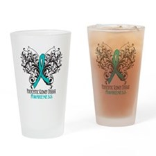 Polycystic Kidney Disease Awarenes Drinking Glass