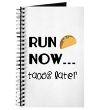 Run Now, Tacos Later Journal