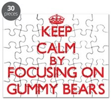 Keep Calm by focusing on Gummy Bears Puzzle