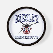 BEESLEY University Wall Clock
