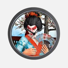 Geisha Wall Clock