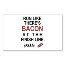 Will Run for Bacon Decal