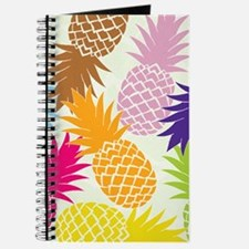 Colorful pineapples patterns Journal