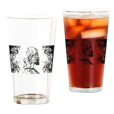 Alice Swirls Drinking Glass