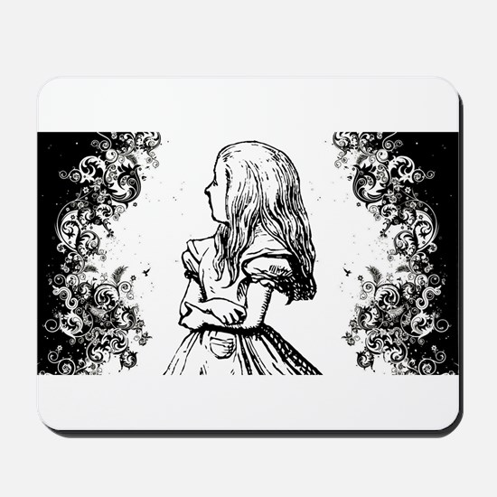 Alice Swirls Mousepad