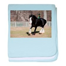clydesdale baby blanket