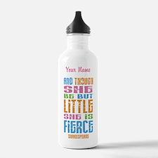 She Is Fierce - Water Bottle