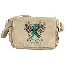PCOS Awareness Messenger Bag