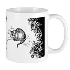 Cheshire Cat Swirls Small Mugs