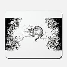 Cheshire Cat Swirls Mousepad