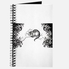 Cheshire Cat Swirls Journal