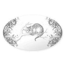 Cheshire Cat Swirls Decal