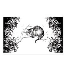 Cheshire Cat Swirls Postcards (Package of 8)