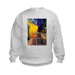 Cafe & Newfoundland Kids Sweatshirt