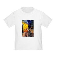 Cafe & Newfoundland Toddler T-Shirt