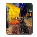 Cafe & Newfoundland Mousepad