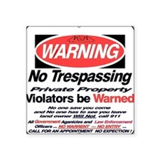 warning sign Sticker
