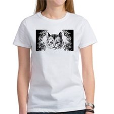 Cheshire Cat Swirls Tee