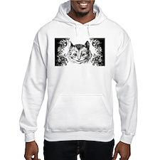 Cheshire Cat Swirls Hoodie Sweatshirt