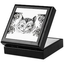 Cheshire Cat Swirls Keepsake Box