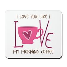 Morning Coffee Mousepad