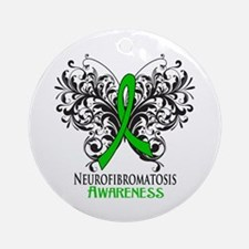 Neurofibromatosis Awareness Ornament (Round)