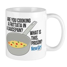 New Girl Frittata Small Mug