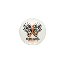 Multiple Sclerosis Awarenes Mini Button (10 pack)