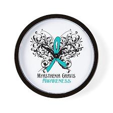 Myasthenia Gravis Awareness Wall Clock