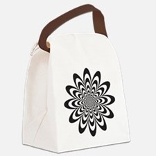Funny Optical Canvas Lunch Bag