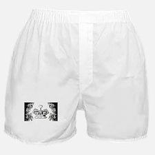 Queen's Crown Swirls Boxer Shorts