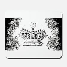 Queen's Crown Swirls Mousepad